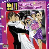 Die drei !!! - Achtung, Promihochzeit!, 1 Audio-CD