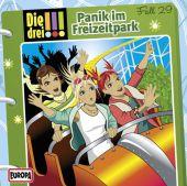 Die drei !!! - Panik im Freizeitpark, 1 Audio-CD