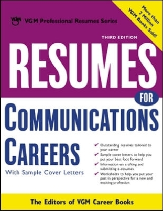 Resumes for Communications Careers