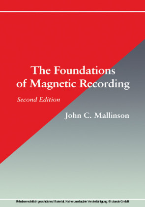 The Foundations of Magnetic Recording 2E