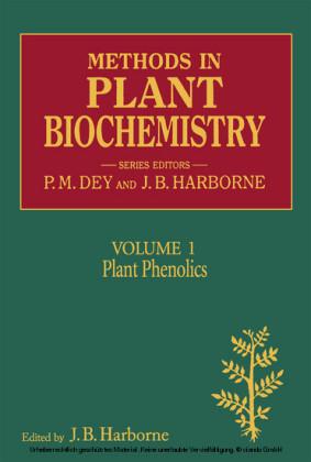 METHODS IN PLANT BIOCHEMISTRY VOL 1 APL