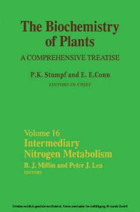 Intermediary Nitrogen Metabolism