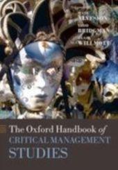 Oxford Handbook of Critical Management Studies