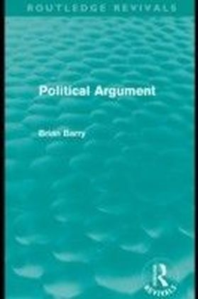 Political Argument (Routledge Revivals)