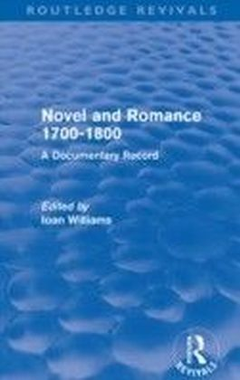 Novel and Romance 1700-1800 (Routledge Revivals)