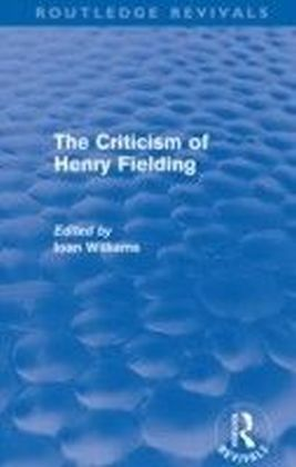 Criticism of Henry Fielding (Routledge Revivals)