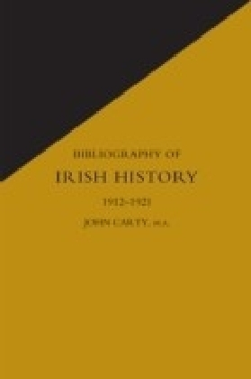 Bibliography of Irish History 1912-1921