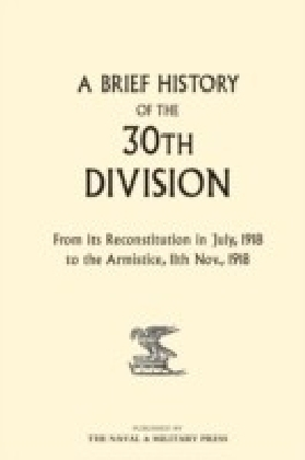 Brief History of the 30th Division