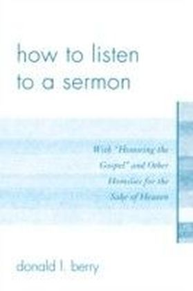 How to Listen to a Sermon