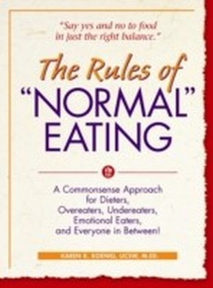 "Rules of ""Normal"" Eating"
