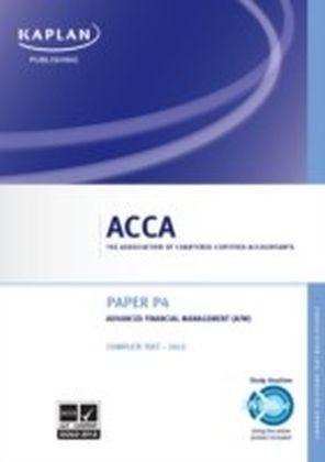 ACCA P4 Advanced Financial Management (AFM)
