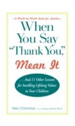"""When You Say """"Thank You,"""" Mean It"""