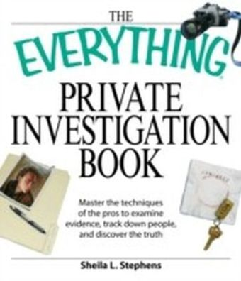 Everything Private Investigation Book