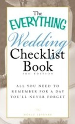 Everything Wedding Checklist Book, 3rd Edition