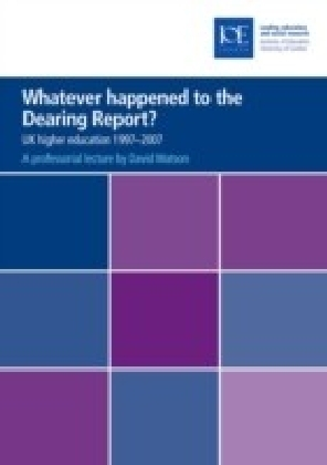 Whatever happened to the Dearing Report?