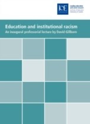 Education and institutional racism