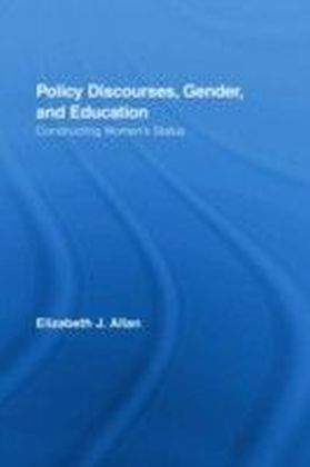Policy Discourses, Gender, and Education