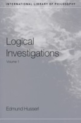 Logical Investigations Volume 1