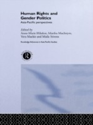 Human Rights and Gender Politics: Asia-Pacific Perspectives