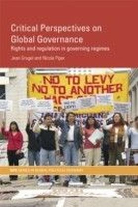 Critical Perspectives on Global Governance