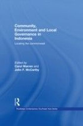 Community, Environment and Local Governance in Indonesia