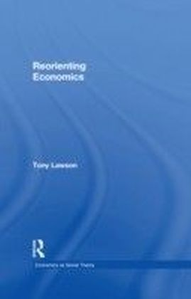 Reorienting Economics