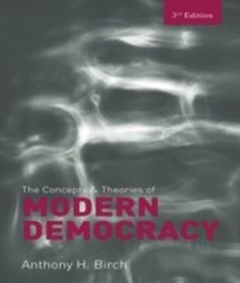 Concepts and Theories of Modern Democracy ed. 3