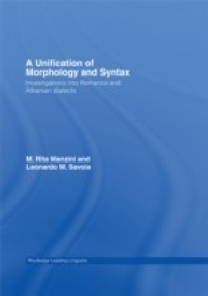 Unification of Morphology and Syntax