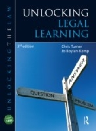 Unlocking Legal Learning, Third Edition
