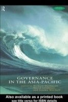 Governance in the Asia-Pacific
