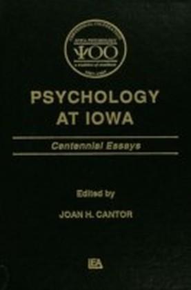 Psychology at Iowa