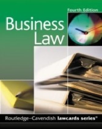 Cavendish: Business Lawcards 4/e