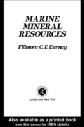Marine Mineral Resources