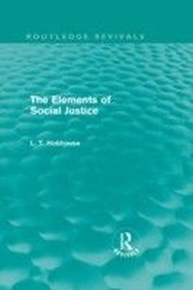 Elements of Social Justice (Routledge Revivals)