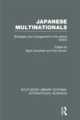 Japanese Multinationals (RLE International Business)