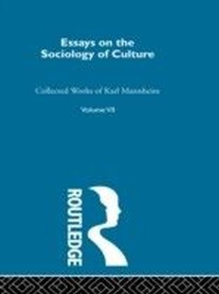 Essays on the Sociology of Culture
