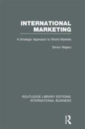 International Marketing (RLE International Business)