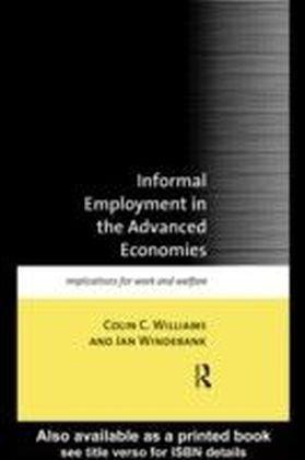 Informal Employment in Advanced Economies