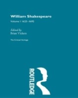 William Shakespeare Vol 1