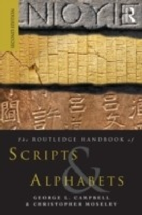 Routeldge Handbook of Scripts and Alphabets