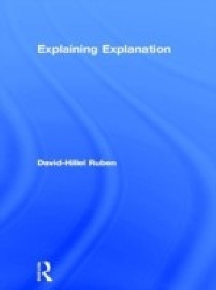 Explaining Explanation