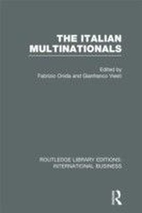 Italian Multinationals (RLE International Business)