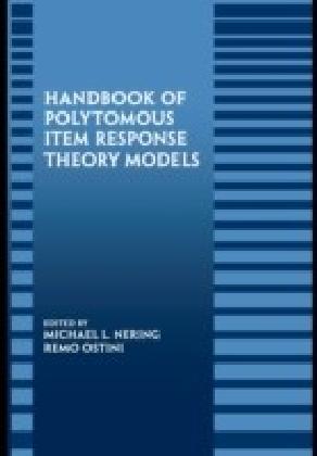 Handbook of Polytomous Item Response Theory Models