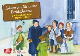 Die Geschichte von Martin Luther, Kamishibai Bildkartenset