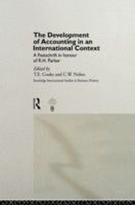 Development of Accounting in an International Context