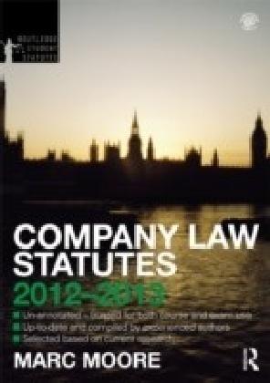 Company Law 2012-2013