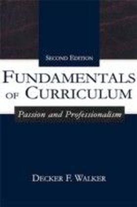 Fundamentals of Curriculum