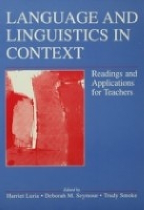 Language and Linguistics in Context