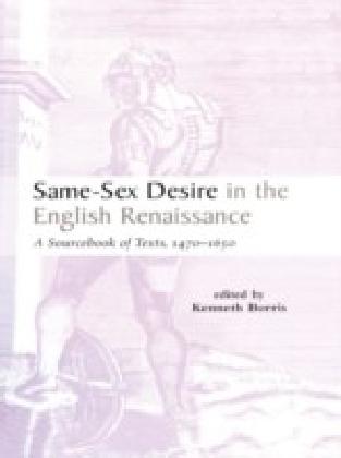 Same-Sex Desire in the English Renaissance
