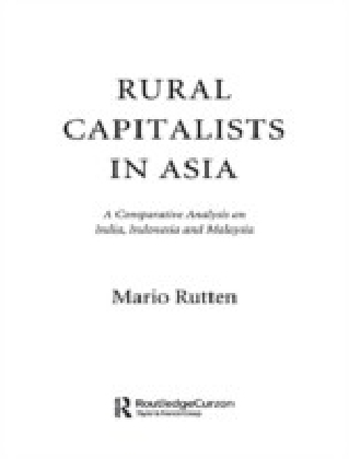 Rural Capitalists in Asia